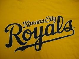 MLB Kansas City Royals sprint yellow baseball t shirt M - $12.81
