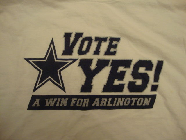 Rare Nfl Dallas Cowboys Vote Yes For and 50 similar items 34778ed03