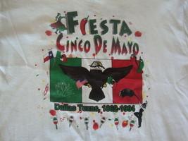 Vintage 90's Cinco De Mayo Fiesta 1994 Dallas Texas 50/50 NEW T Shirt XL - $14.79