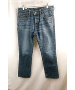 Abercrombie fitch classic straight mens jeans size 31 button fly  - $16.86