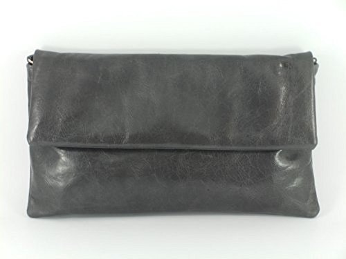 Loni Womens Fine Compact Size Real Leather Clutch Bag/Shoulder Bag Wedding/Oc...