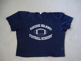 Rhode Island Football Academy Mesh Navy Blue Jersey 2XL - $16.77