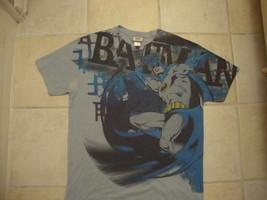 BATMAN D.C dc Comics comic book soft thin T shirt L   - $14.79