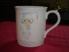 Enesco Precious Moments Peace of God mug 1985 VGU (27C) - $10.99