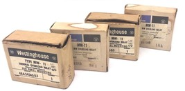 LOT OF 4 NIB WESTINGHOUSE MW-11 THERMAL OVERLOAD RELAYS STYLE NO. 48A3454G03 image 1