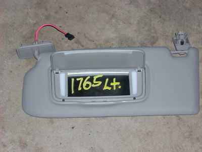 2007 VOLVO 40 SERIES LEFT SUN VISOR