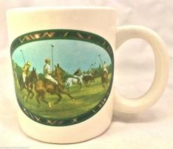 Authentic Ralph Lauren Polo Horses Classic Plai... - $2.99