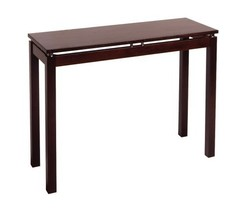 Winsome Wood Linea Console Table, Espresso - $92.41