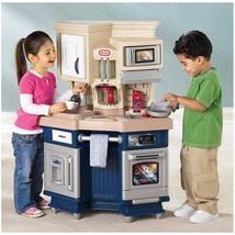 Kitchen Play Pretend Kids Toy Super Chef Cookin... - $163.99