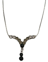 Crystals Bridesmaid Gifts Jewelry Affordable Inexpensive Necklaces - $8.18