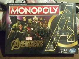 Monopoly Marvel Avengers Endgame Special Edition Hasbro Gaming Ages 8+ NIB - $51.47
