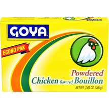 Goya Foods Chicken Flavored Bouillon Powder Econo Pak, 7.05 Ounces (Pack... - $15.83