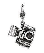Camera Charm In Sterling Silver - $57.42