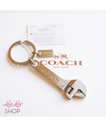 NWT Coach Wrench Tool Key ring FOB Chain Purse ... - $88.00