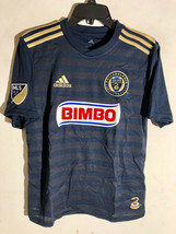 Adidas Youth MLS Jersey PHILADELPHIA UNION Navy sz M - $12.86