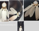 White dream catcher necklace collage thumb155 crop