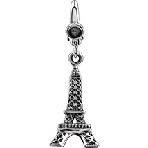 Eiffel Tower Charm In Sterling Silver - $47.52