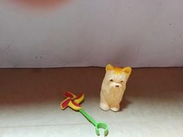Barbie Kelly Doll House Diorama Pet Vet Animal==Pinwheel & Dog Accessory  - $5.00