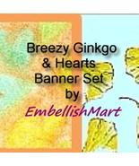 Shop Banner Web Set Header Avatar Leaves Hearts... - $9.25