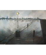 Walk in the Rain CANVAS PRINT figures and portraits 8x10 art- : rdoward ... - $19.79