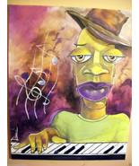 Original 8x10 Ethic African American Urban Canvas Wall Art:- R Doward Fi... - $19.00