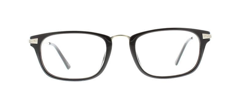 Ebe Bifocal Reading Glasses Mens Womens Retro Black Silver Reading Glasses