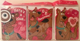 Hallmark Scooby Doo Valentine's Day Cards & Envelopes - 3 Designs Packag... - $12.94