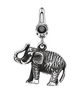 Elephant Charm In Sterling Silver - $57.42