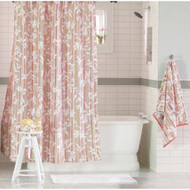 NEW Target Threshold Red Vine Silhouette Shower Curtain 72 X 72 - $11.25