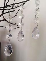 12pcs 10CM Garland Strands Crystal Acrylic Outdoor Christmas Tree Decor Supplies - $10.75