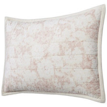Threshold Pink Toile Cream Two  Standard Pillow Shams  NEW Pair Soft Floral - $26.99