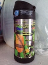 Tmnt Teenage Mutant Ninja Turtles Thermos Funtainer Insulated Lunch New BTS - $22.49