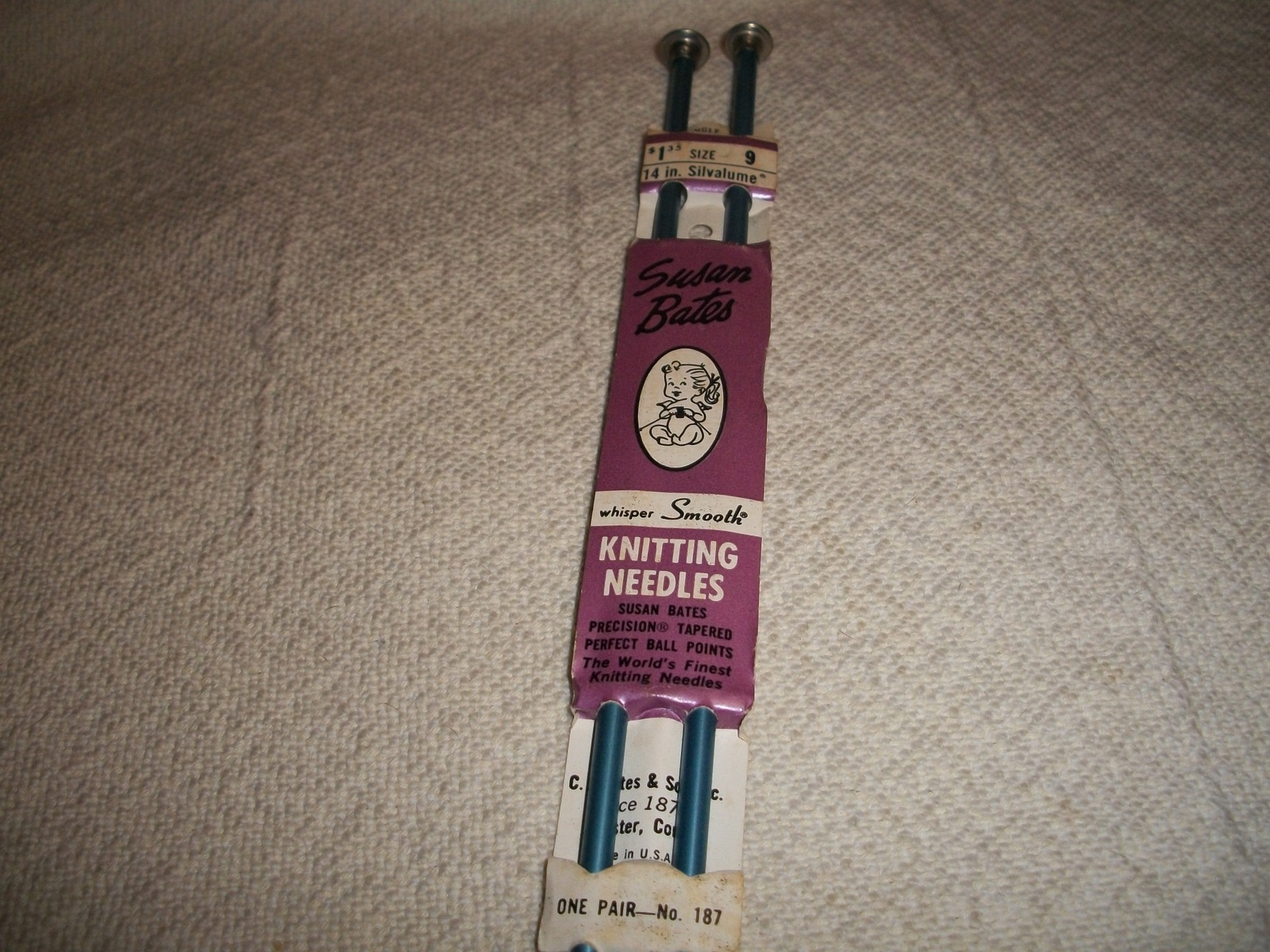 "Primary image for 14"" Susan Bates Knitting Needles Size 9"
