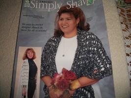 Crochet Simply Shawls - $5.00