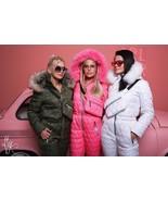 Womens Mens Metallic Ski Suit Snow Skianzug Glanznylon Glossy Outwear Sh... - $220.00