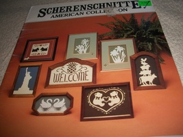 Scherenschnitte American Collection Book 1 - $5.00
