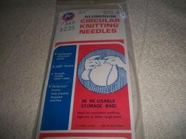 "24"" Aluminum Boye Circular Knitting Needles Size 6 - $4.00"