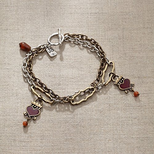 Jim Shore Claddagh Heart/Agate Bracelet [Jewelry]