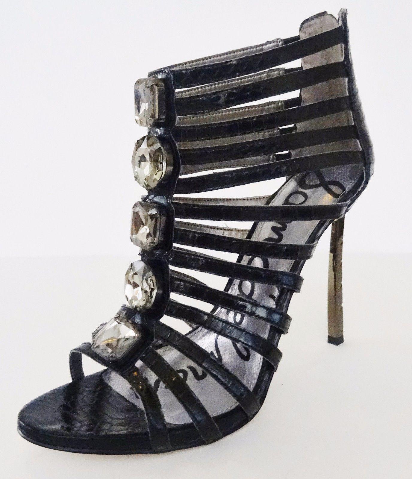 868f6517dba42 NIB Sam Edelman Hampton Ankle Caged Sandal and 33 similar items. S l1600
