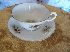 Lenox Pine cup and saucer 9 available - $11.14