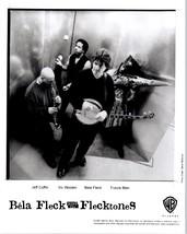 RARE Original Press Photo of Bela Fleck and the Flecktones an Instrument... - $49.49