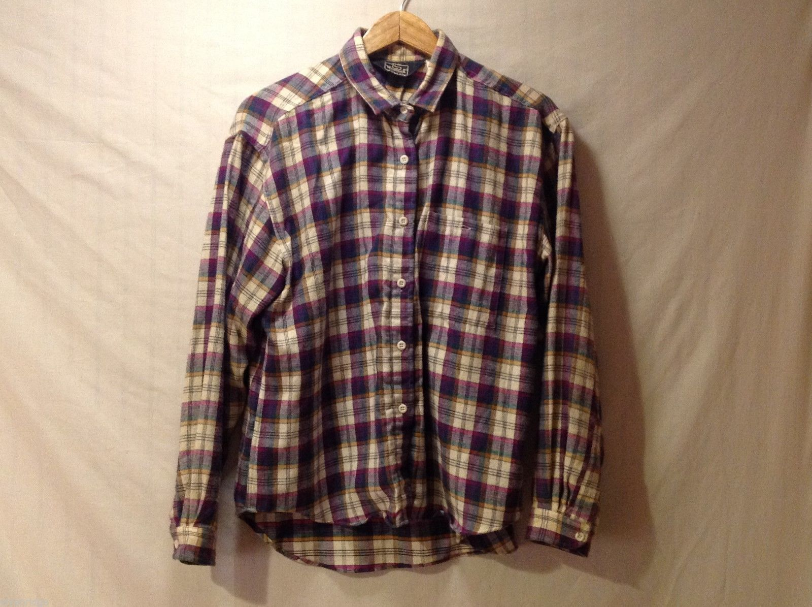 The Woolrich Woman Womens Long sleeve Flannel, Size Large