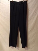 Womens black dress pants,size 6