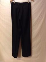 Womens black dress pants,size 6 image 2