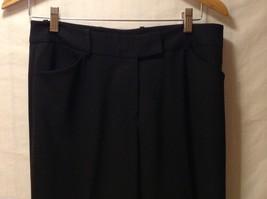 Womens black dress pants,size 6 image 3