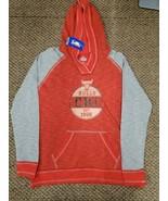 NWT Chicago Bulls NBA Basketball Red Sweatshirt Hoodie Women's Medium New  - $29.69