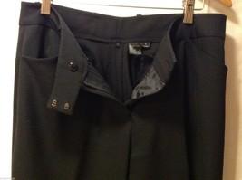 Womens black dress pants,size 6 image 7