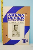 Arena Review 46th & Market Vol. 1 No. 8 Feb. 14, 1941 Len Macaluso Cover - $9.89