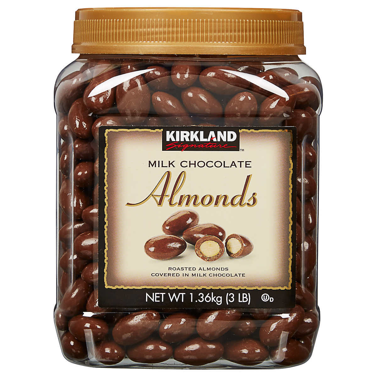 Kirkland Signature Almonds, Milk Chocolate, 3 lb - $29.99