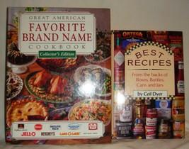 2 Name Brand Cookbooks Hardbacks inv1966 - $7.76